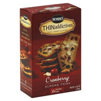 Nonni's Foods Nonni's THINaddictives Cranberry Almond Thins 4.44 oz