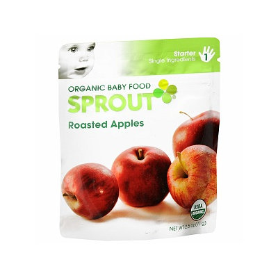Sprout Organic Baby Food:  1 Starter: Single Ingredients