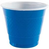 Party Dimensions 82281 9 Oz Solid Blue Plastic Cup - 648 Per Case