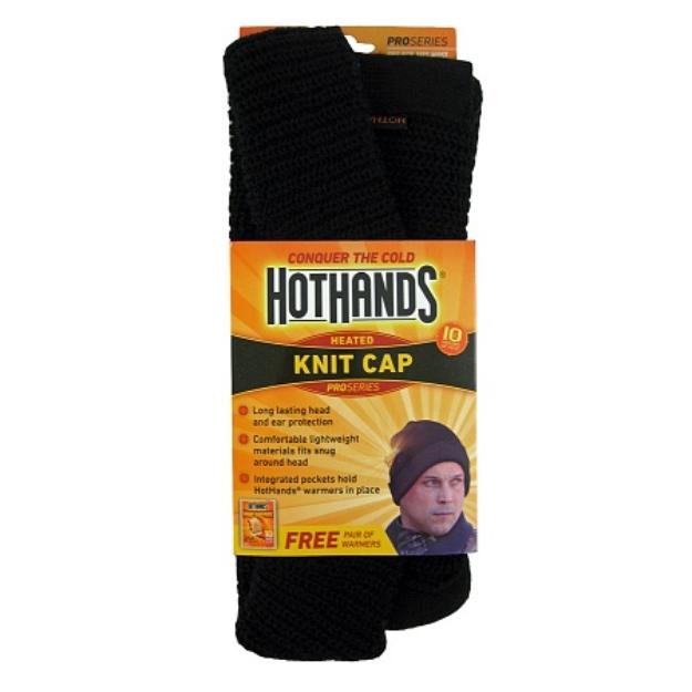 HotHands Heated Knit Cap, Black, 1 ea