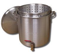 King Kooker 160 Qt. Aluminum Boiling Pot with Valve