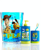 Disney Bath Accessories, Toy Story Soap and Lotion Dispenser