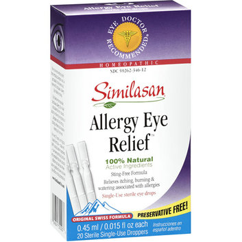 Similasan Allergy Eye Relief 0.015 fl oz