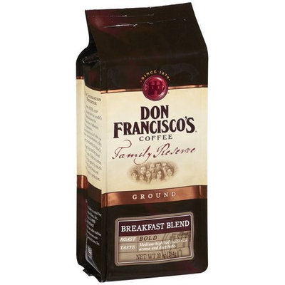 Don Francisco Family Reserve Breakfast Blend Ground Coffee, 10 Ounce