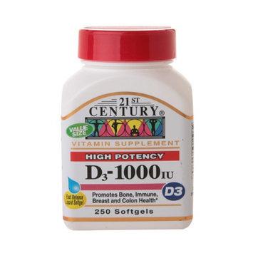 21st Century Vitamin D3 1000 IU