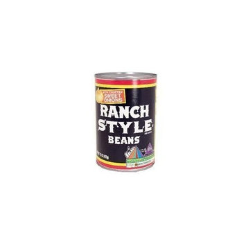 Ranch Style Beans with Sweet Onions 15oz Can (Pack of 6)