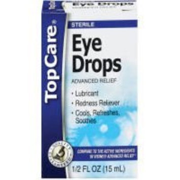 Top Care Advanced Relief Eye Drops (Case of 6)