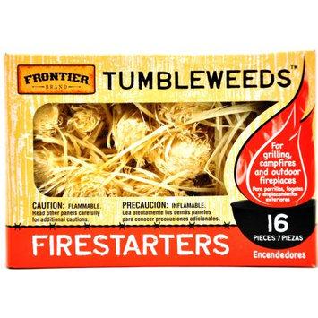 Frontier Tumbleweed Firestarter 16-Pack Paraffin Wax Charcoal Starter 205-330-448