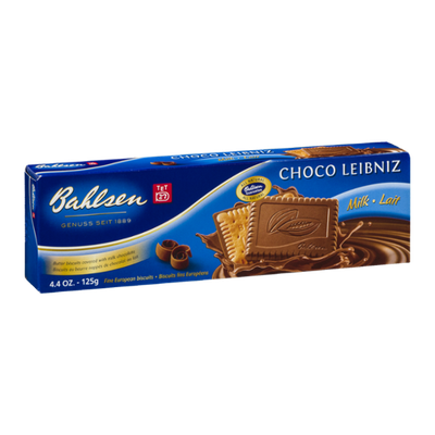 Bahlsen Choco Leibniz Milk Fine European Biscuits