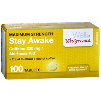 Walgreens Stay Awake Caffeine Tablets