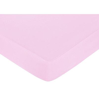 Jojo Designs, Llc. Sweet JoJo Designs Butterfly Pink Fitted Crib Sheet