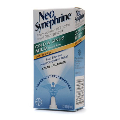 Neo-Synephrine Cold & Sinus Mild Strength Nasal Spray