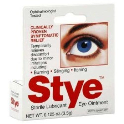 Stye Sterile Lubricant Ointment, 0.125 Ounce