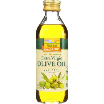 Field Day Olive Oil 100% organic Ev Glass 500 ml (Pack of 12)