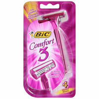 BIC Comfort 3 Shaver For Women Sensitive Skin