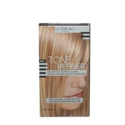 L'Oréal Paris Tone Refiner Balancing Toning Gloss, TR1 (For Blonde Hair)