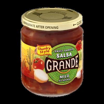 Grande Sweet Garden Salsa Mild Chunky Style