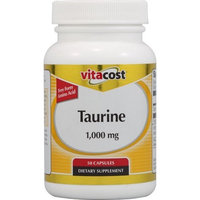 Vitacost Brand Vitacost Taurine -- 1000 mg - 50 Capsules