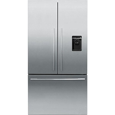 Fisher & Paykel Fisher Paykel RF201ADUSX5 20.1 Cu. Ft. Stainless Steel Counter Depth French Door Refrigerator - Energy Star