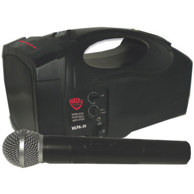 Nady WLPA 35/A Portable Wireless PA System