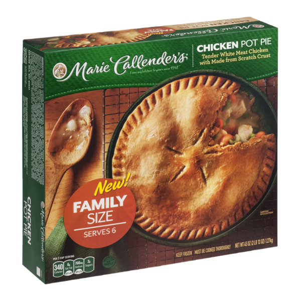 Marie Callender's Chicken Pot Pie Family Size