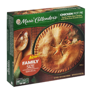 Marie Callender's Chicken Pot Pie Family Size