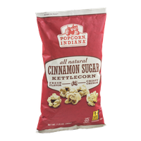 Popcorn Indiana All Natural Kettle Corn Cinnamon Sugar
