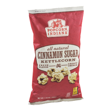 Popcorn, Indiana All Natural Kettle Corn Cinnamon Sugar