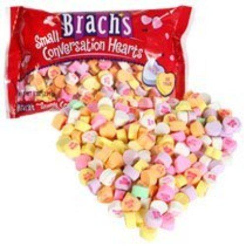 Brachs Brach's Small Conversation Hearts, 8oz Bag