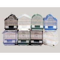 Prevue Pet Products BPV22008 13 by 11-Inch 8-Pack Parakeet Cage, Small, Colors Vary