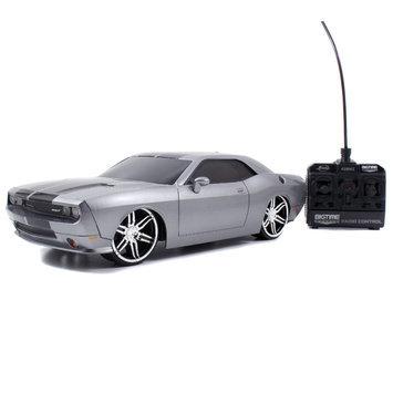 Jada Toys, Inc. 1:16 Radio Control Vehicle: 2012 Dodge Challenger SRT8