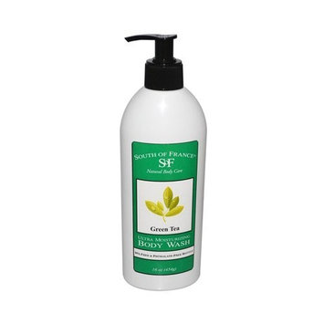 South of France Body Wash,Green Tea 16 oz