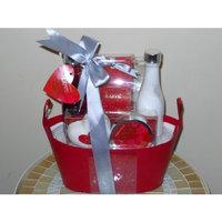 Landy International Aromanice Love Bath Set In Basket - 5 Piece
