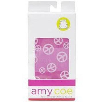 amy coe 50 Count Disposable Diaper Sacks - Peace