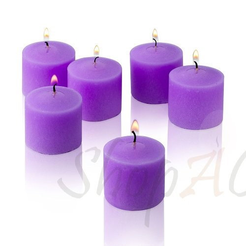 Light In The Dark Candles 10 Hour Lavender Scented Votive Candle (Set of 36) LITD-V1036-LAVEN