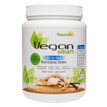 Naturade Vegan Smart All-In-One Nutritional Shake, Vanilla, 1.42 lb