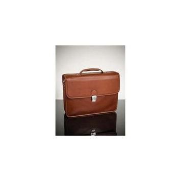 Mcklein 15144 Ashburn S Series Leather Laptop Case - Brown