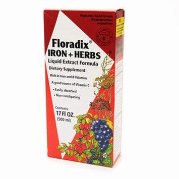 Flora dix Iron + Herbs Liquid Extract Formula
