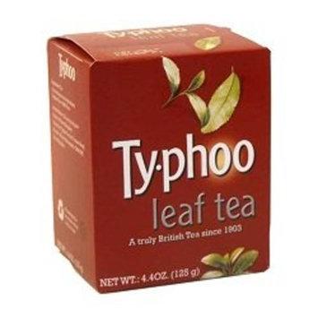 Typhoo Tea, Black Loose Tea, 4.41-Ounce Boxes (Pack of 6)