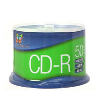 COLOR RESEARCH 50 Pack CD-R Blank Media - 52X Speed, 700MB - C18-42857