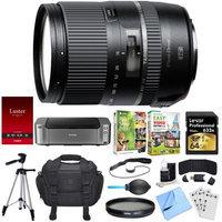 Tamron 16-300mm f/3.5-6.3 Di II VC PZD MACRO Lens for Nikon Dual Mail in Rebate Bundle