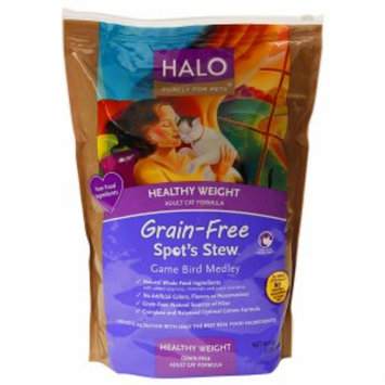 Halo, Purely For Pets Healthy Weight Adult Cat Food, Spot's Stew, Game Bird Medley, 6 lb