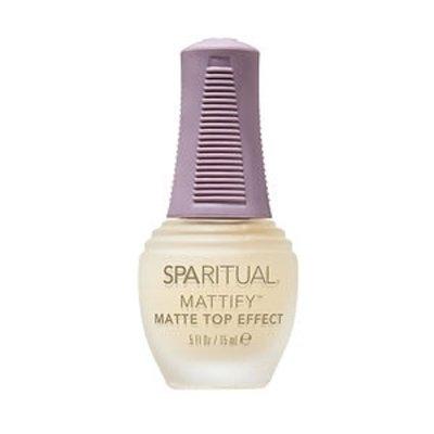 SpaRitual Mattify Matte Nail Lacquer Top Effect