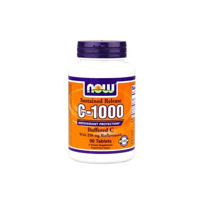 NOW Foods - Vitamin C-1000 Complex - 90 Tablets