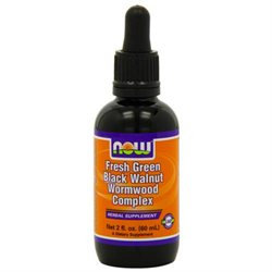 NOW Foods Fresh Green Black Walnut Wormwood Complex