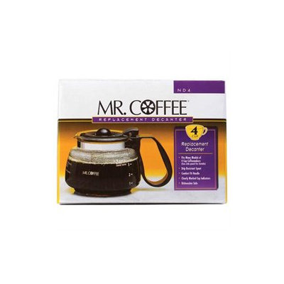 Mr. Coffee 4-Cup Replacement Decanter ND4