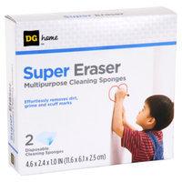 DG Home Super Eraser Multipurpose Cleaning Sponges - 2 CT