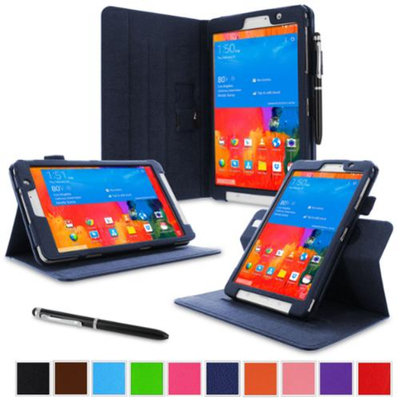 rooCASE Samsung Galaxy Tab Pro 8.4 Case - Dual View Multi-Angle Stand 8.4-Inch 8.4