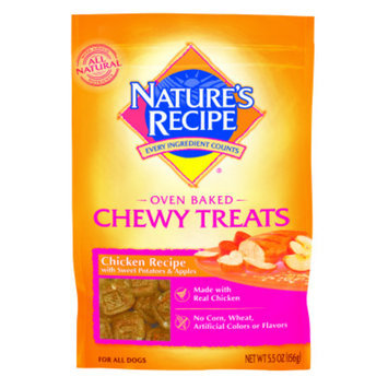 Nature's Recipe NATURE'S RECIPEA Oven Baked Chewy Dog Treats