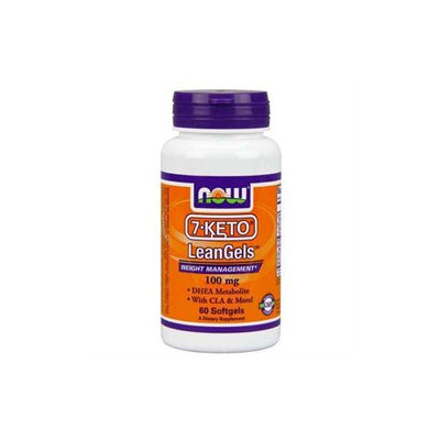 NOW Foods - 7-Keto LeanGels 100 mg. - 60 Softgels